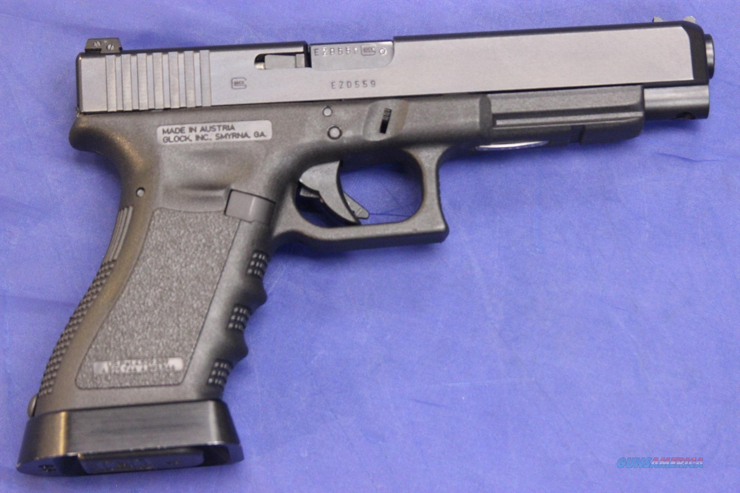 Glock 35 40 S W W 3 Mags Extended Mag Well For Sale