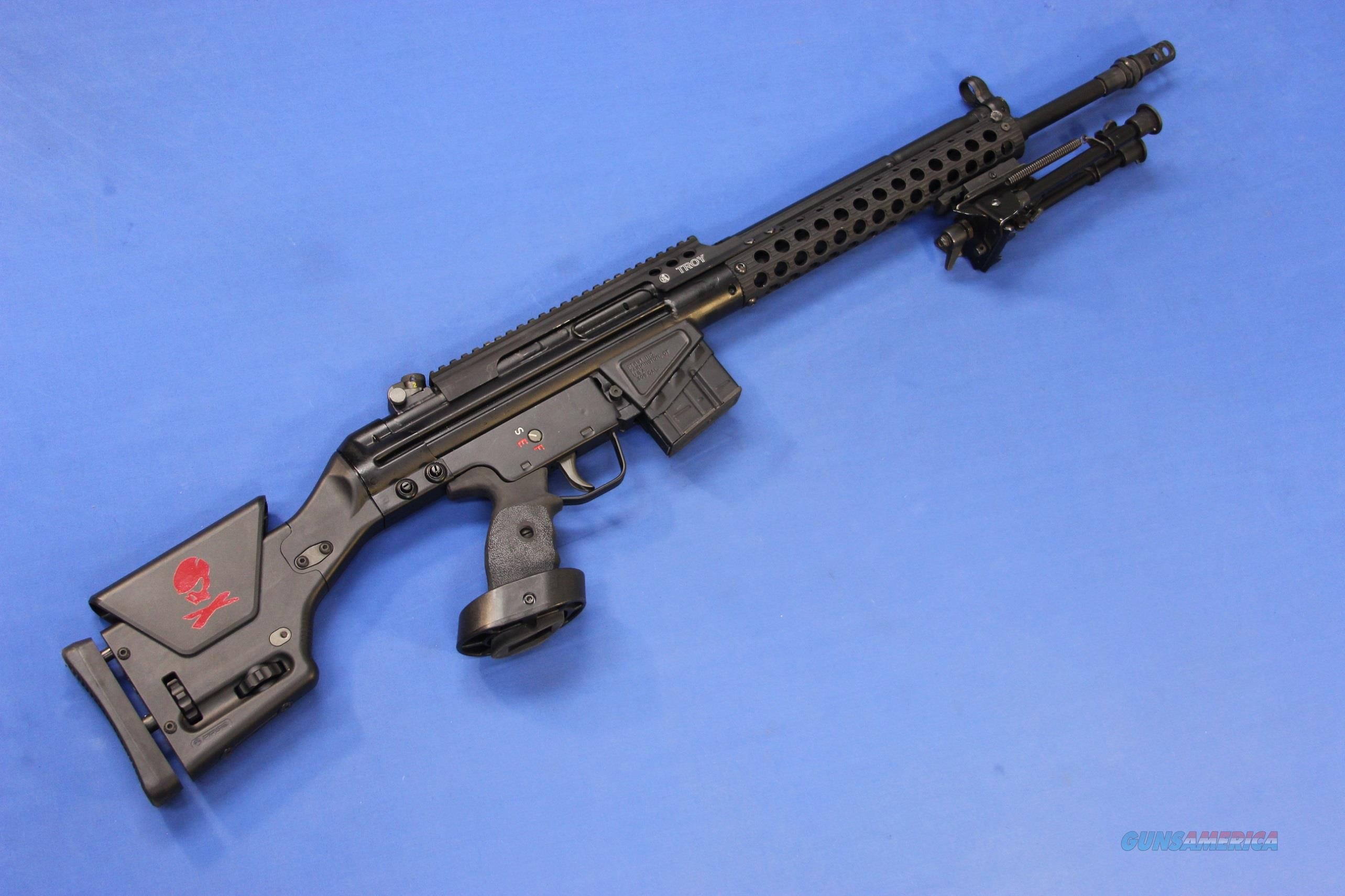 PTR INDUSTRIES PTR-91  308 WIN w/TROY G3 RAIL