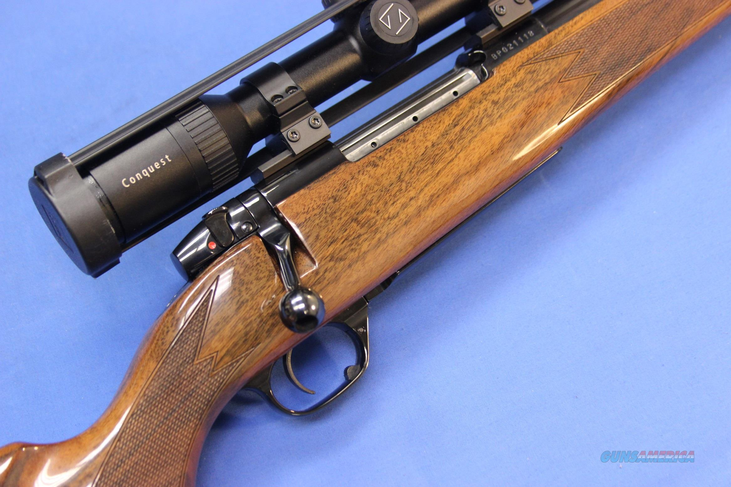 Weatherby Mark V Deluxe 7mm 08 Rem W Zeiss Sco For Sale