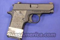 SIG SAUER P238 .380 ACP EXTREME BLACK/GREY - NEW!