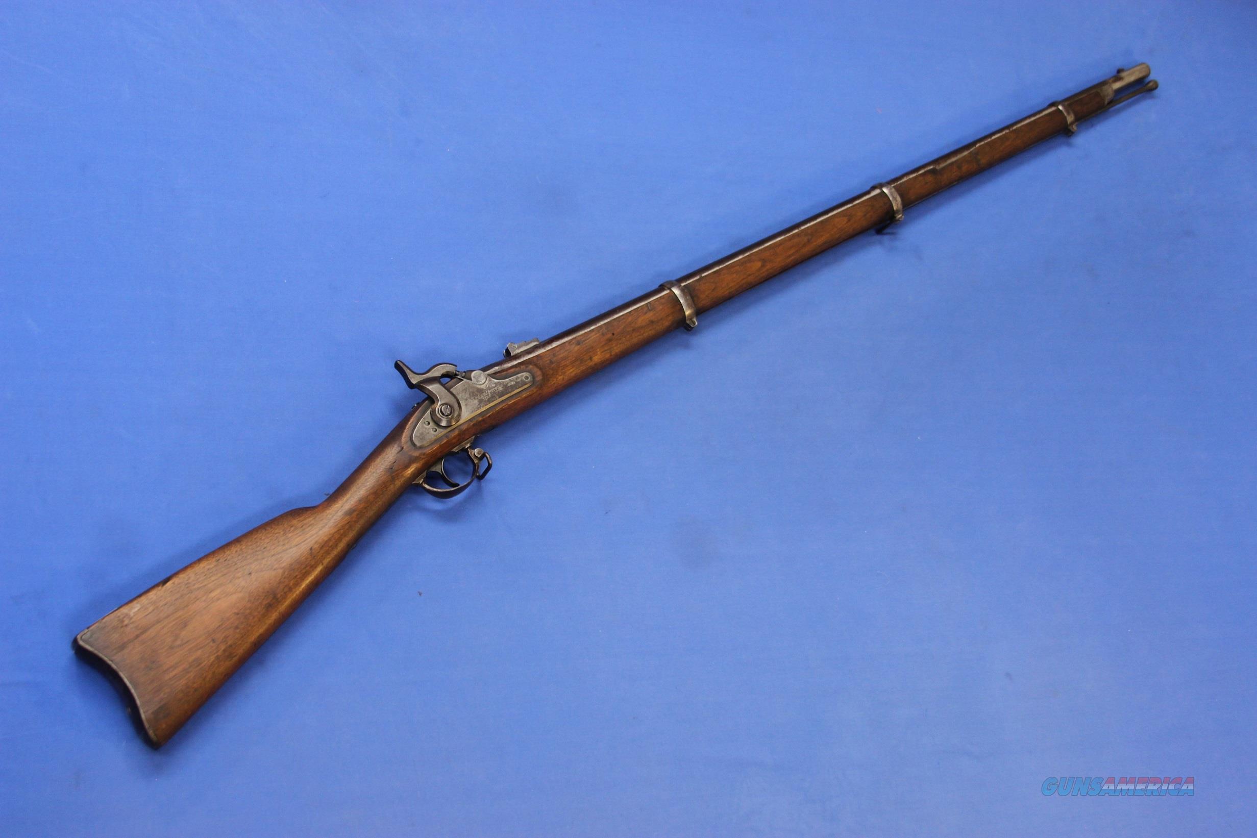 REMINGTON 1865 RIFLE MUSKET U S  MARKED w/BAYONET