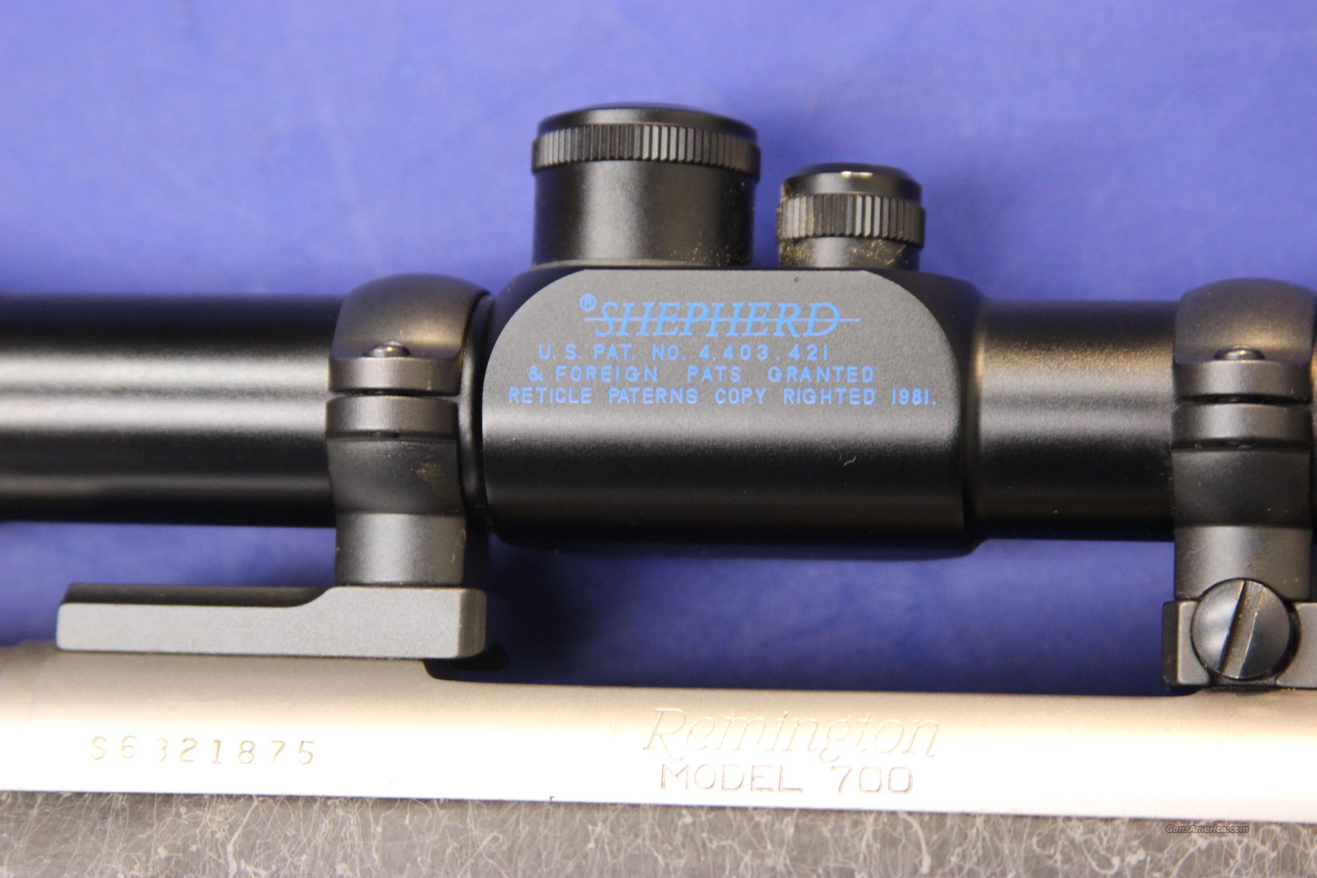 Remington 700 sendero special sf 7mm stw w scope for sale 937956511