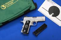 NIGHTHAWK CUSTOM T4 HARD CHROME .45 ACP - AS NIB