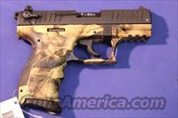 WALTHER P22 .22 LR DESERT CAMO – NEW!