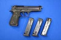 BERETTA MODEL 92FS 9mm w/4 HI-CAP MAGAZINES