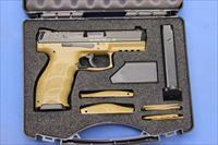 HECKLER & KOCH VP9 FDE 9mm w/BOX & FULL KIT 15-RD