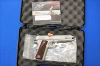 KIMBER 1911 STAINLESS II .45 ACP - AS NEW IN BOX
