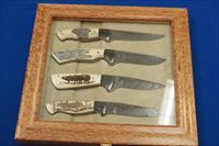 BEAUCHAMP CUSTOM SCRIMSHAW KNIVES DANGEROUS GAME