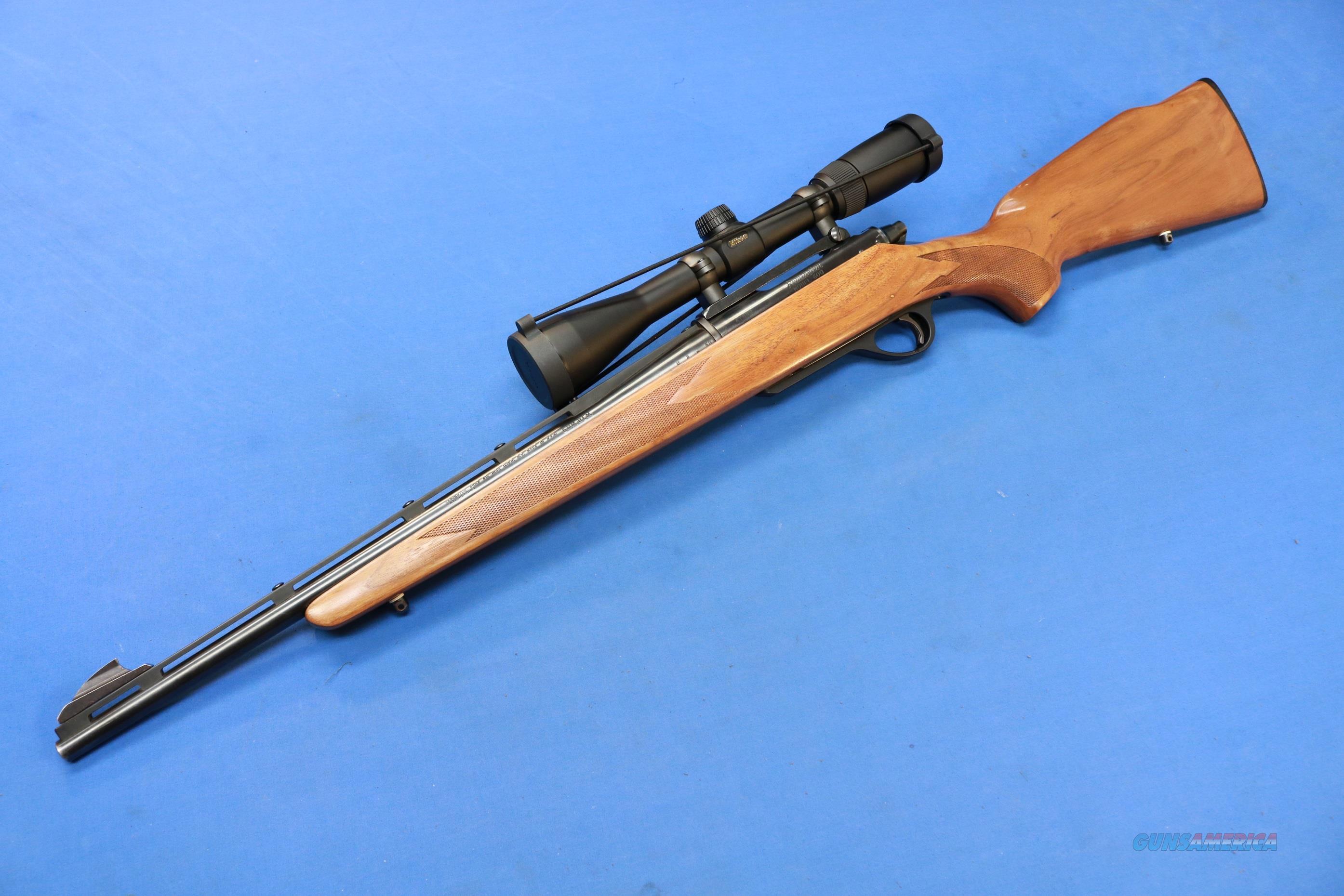 Remington Model 600 Bolt Action 6mm Rem W Nikon For Sale