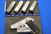 WALTHER PPK/S (INTERARMS) SS .380 ACP w/5 MAGS