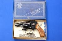 SMITH & WESSON 38 BODYGUARD AIRWEIGHT .38 SP 1981