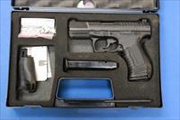 WALTHER P99 AS 9mm w/BOX, TWO MAGS & KIT