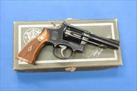 SMITH & WESSON K-38 COMBAT MASTERPIECE .38 SPECIAL