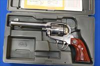 RUGER NEW VAQUERO STAINLESS .357 MAG w/FACTORY BOX