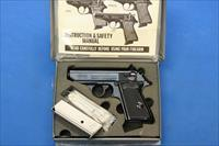 WALTHER PPK INTERARMS .380 ACP w/BOX & 2 MAGS