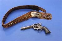 COLT SINGLE ACTION ARMY .45 COLT w/BRIDGEPORT RIG & HISTORICAL PROVENANCE