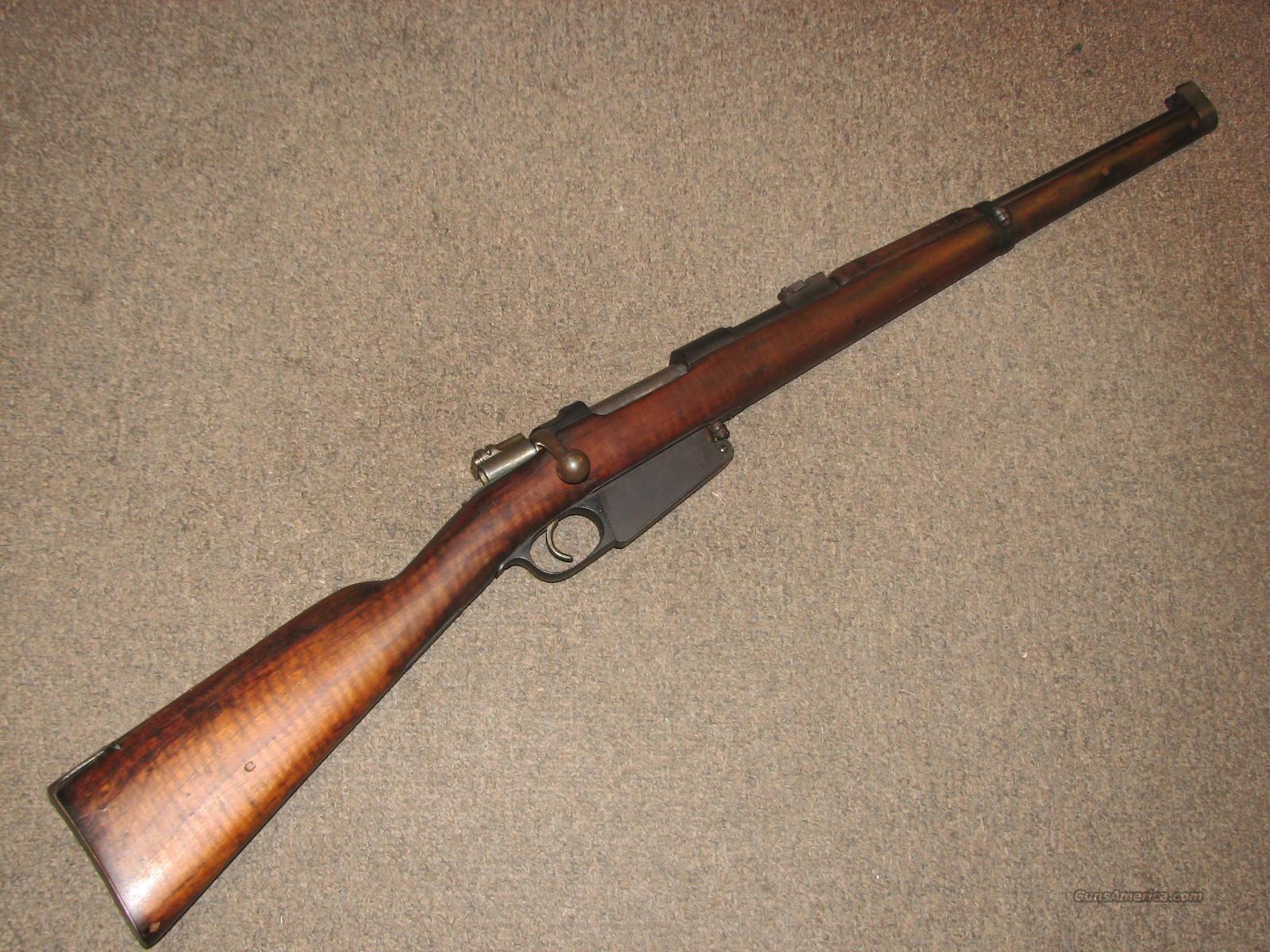 ARGENTINE MAUSER 1891 CARBINE 7 65 ARGENTINE