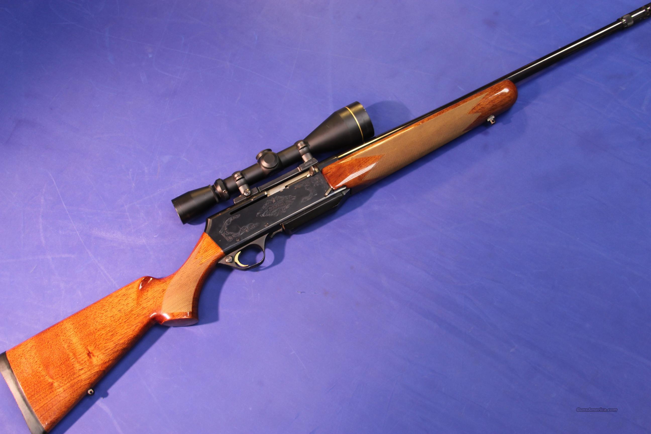 BROWNING BAR SAFARI GRADE II 7mm REM MAG W BOS For Sale
