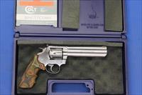 "COLT KING COBRA STAINLESS .357 MAG 6"" w/BOX"