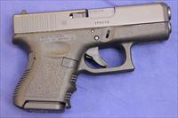 GLOCK 26 GEN 3 9mm 10+1 - NEW!