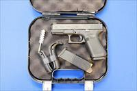 GLOCK MODEL 19 GEN 5 9mm w/BOX & KIT - 15-RD MAGS