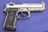 BERETTA 92FS 9mm COMPACT INOX w/ RAIL - NEW!