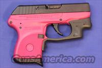 RUGER LCP .380 AUTO RASPBERRY PINK w/ LASER