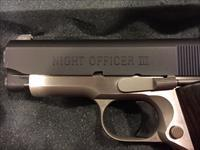 Colt Night Officers III 2 tone Model 45 ACP
