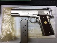 Colt Series 70 Gold Cup Factory Electroless Nickel 45 ACP NIB