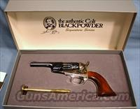 Colt Signature Series 1862 Trapper Single Action Blackpowder Percussion Revolver 36 Caliber New In Box