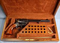 Cimarron 1873 7th Cavalry Uberti Single Action Revolver Cased Set 45 Colt