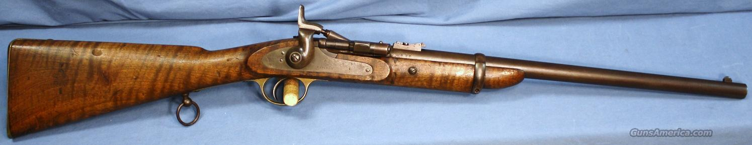 Snider Type III Cavalry Carbine Single Shot Rifle  577 Snider Made in 1870