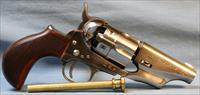 Taylors & Co. 1860 Army Snub Nose Single Action Percussion Revolver, made by Pietta, 44 Caliber Free Shipping!