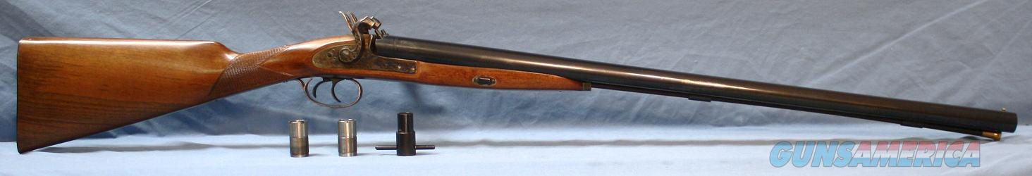 Pedersoli Double Barrel Percussion Shotgun 12 Gauge with Chokes Free  Shipping and No Credit Card Fees!