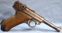 Luger WWI 1918 German Army Semi-Automatic Pistol 9mm