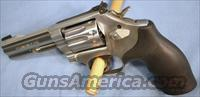 Smith and Wesson 617-6 Stainless Steel Double Action Revolver .22 Long Rifle