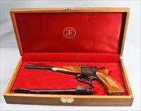 Thompson Center Contender G1 Single Shot Pistol Boxed Set, (made 1971) .357Mag and 22LR