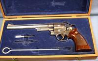 Smith & Wesson Model 29-2 Nickel Double Action Revolver 44 Magnum