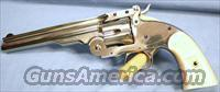 Uberti 1875 Schofield Break-Top Nickel Single Action Revolver 45 Colt