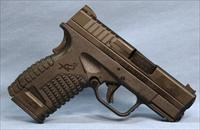 Springfield Armory XDS Double Action Semi-Automatic Pistol 9mm