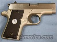 Colt Mustang POCKETLITE Single Action Semi-Automatic Pistol .380 Auto