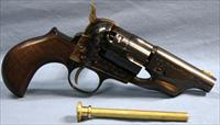 Taylors & Co. Model 1860 Army Snubbie Single Action Percussion Revolver 44 Caliber