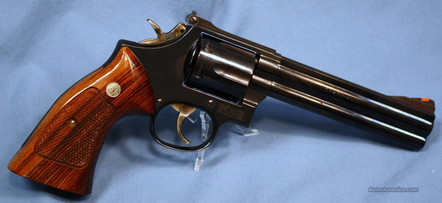 Smith Wesson Model 586 1 Double Action Revolver 357 Magnum Made In 1988