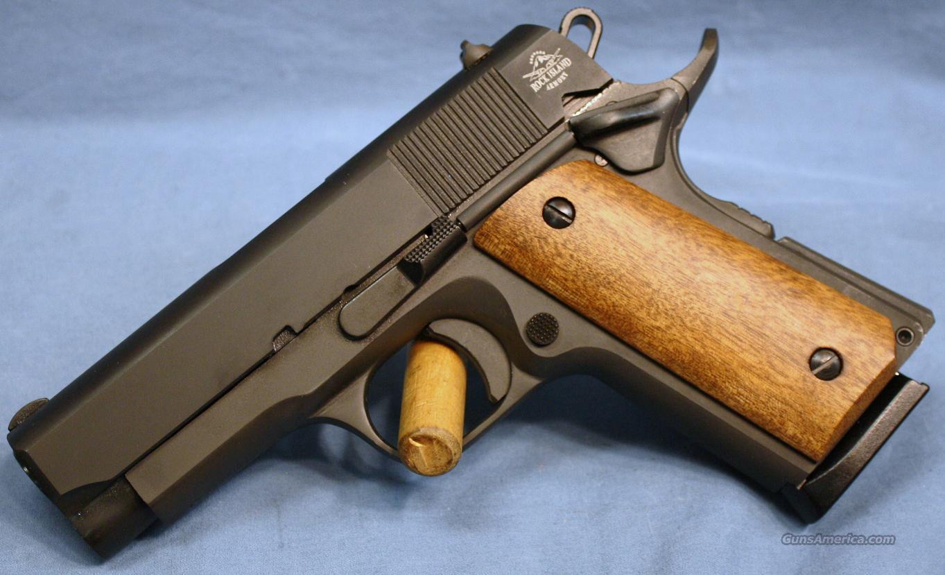 Armscor Rock Island 1911 Compact Semi-Automatic Pistol 45 ACP