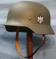 German M40 Helmet Restored