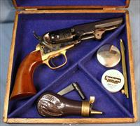 Uberti 1849 Pocket Single Action Percussion Revolver Cased Set 31 Caliber Free Shipping and No Credit Card Fees!