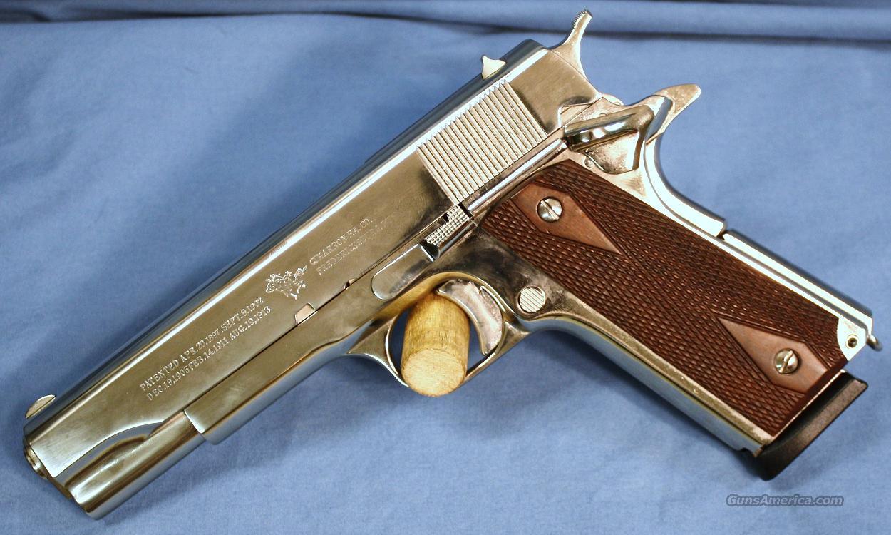 A1 Auto Sales >> Cimarron 1911 Nickel Semi-Automatic Pistol .45 ... for sale
