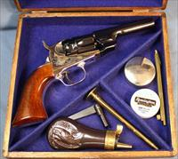 Colt Signature Series Model 1862 Trapper Single Action Blackpowder Percussion Revolver Cased Set.36 Caliber Free Shipping and No Credit Card Fees!