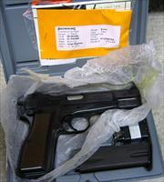 Browning HI-Power 9mm W/Adjustable Sight & Two 13 Round Mags - NIB