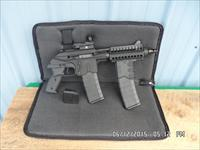 KEL TEC MODEL PLR-16 TACTICAL .223 CAL PISTOL 100% NEW IN SOFT CASE WITH EXTRAS.